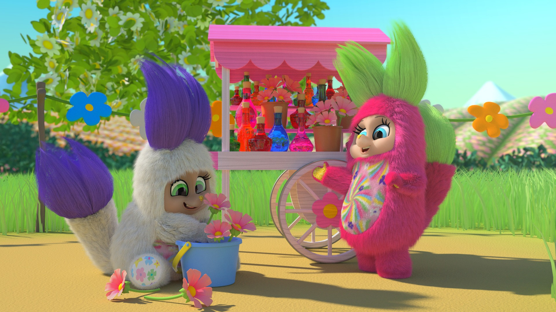 Bush Baby World Blossoms Webisode The Charactershop